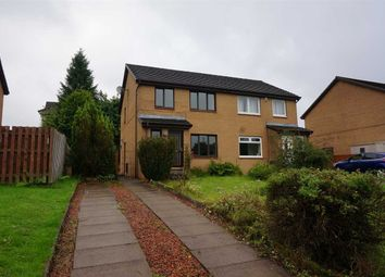 Thumbnail 3 bed semi-detached house for sale in Blairdenon Drive, Cumbernauld, Glasgow