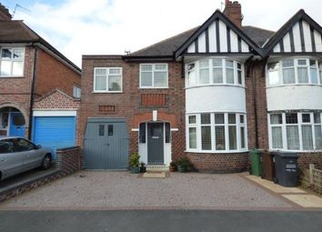 Thumbnail 4 bed semi-detached house for sale in Elmfield Avenue, Birstall, Leicester, Leicestershire