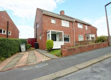 Thumbnail 3 bed semi-detached house to rent in Warwick Avenue, Moorside, Consett