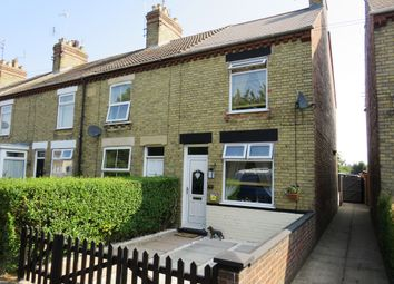 Thumbnail 2 bed end terrace house for sale in New Road, Woodston, Peterborough
