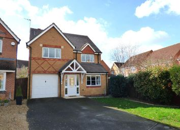 Thumbnail 4 bedroom detached house for sale in Louth Drive, Rushden, Northamptonshire