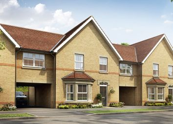 "Thumbnail 4 bed terraced house for sale in ""Chesham Plus"" at Pedersen Way, Northstowe, Cambridge"
