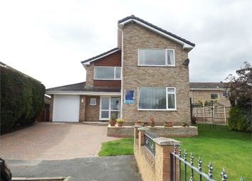 Thumbnail 4 bed detached house for sale in Berwyn Drive, Marchwiel, Wrexham