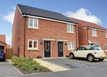 Thumbnail 2 bed semi-detached house for sale in Wicstun Way, Market Weighton, York