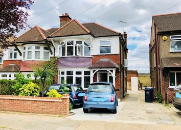 Thumbnail 3 bed semi-detached house to rent in Ambleside Gardens, Wembley