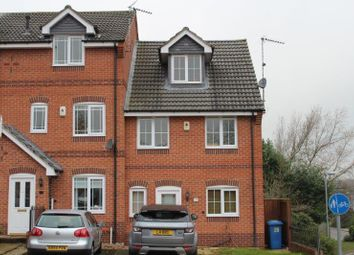 Thumbnail 4 bedroom town house for sale in Blackthorn Drive, Mansfield