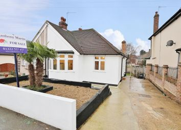 Thumbnail 3 bed semi-detached bungalow for sale in Fairford Avenue, Bexleyheath