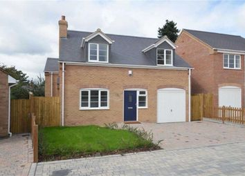 Thumbnail 4 bed detached house for sale in Ridge Gardens, Cosby, Leicester