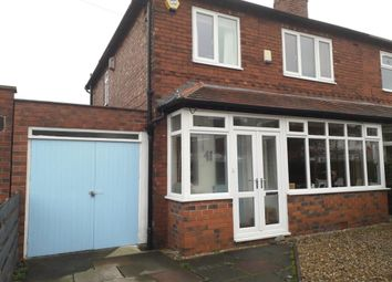 Thumbnail 3 bedroom semi-detached house for sale in Daventry Road, Chorlton