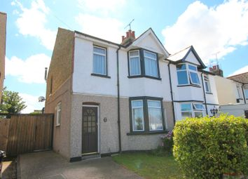 Thumbnail 3 bed semi-detached house for sale in Cross Road, Birchington