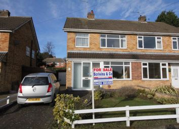 Thumbnail 3 bedroom semi-detached house for sale in Bute Close, Hinckley