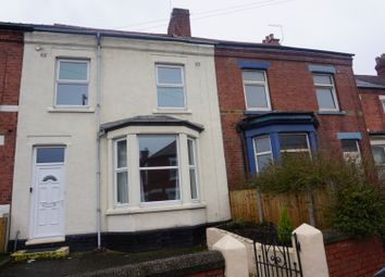 Thumbnail 4 bedroom terraced house for sale in Victoria Road, Wrexham