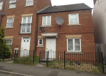 Thumbnail 3 bed end terrace house to rent in Richmond Gardens, Hardwick Street, Chesterfield