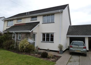 Thumbnail 3 bed semi-detached house to rent in Orleigh Close, Buckland Brewer