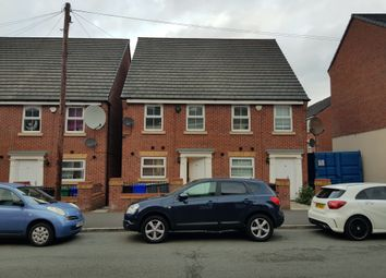 Thumbnail 3 bed town house for sale in Humber Street, Cheetham Hill, Manchester