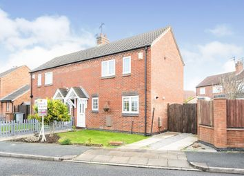 Thumbnail 2 bedroom semi-detached house for sale in Bradgate Close, Moreton, Wirral