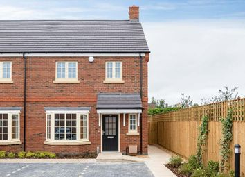 Thumbnail 3 bed semi-detached house for sale in Mobbs Close, Olney, Buckinghamshire