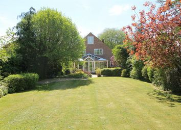 Thumbnail 4 bed detached house for sale in Chalkhouse Green Road, Kidmore End, Reading