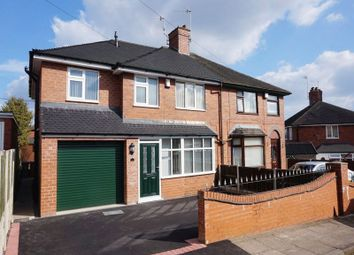 Thumbnail 4 bed semi-detached house for sale in Greenway, Blurton, Stoke-On-Trent