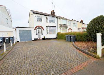 Thumbnail 3 bed semi-detached house for sale in Ridgacre Road, Quinton, Birmingham