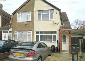 Thumbnail 2 bed semi-detached house to rent in East Road, Bedfont, Feltham