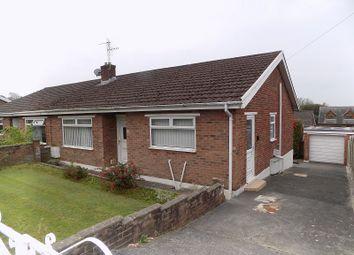 Thumbnail 3 bed semi-detached bungalow for sale in Woodlands Park, Kenfig Hill, Bridgend.