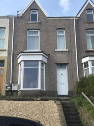 Thumbnail 3 bedroom terraced house to rent in Rosehill Terrace, Mount Pleasant, Swansea