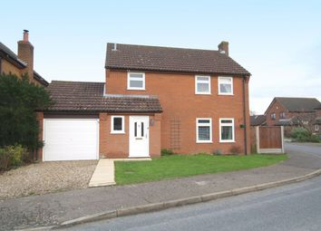 Thumbnail 3 bed detached house for sale in Humphreys Close, Forncett St. Peter, Norwich