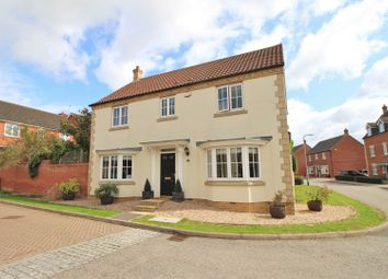 Thumbnail 4 bed detached house for sale in Briarwood Way, Wollaston
