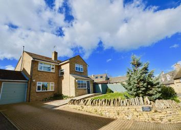 Thumbnail 4 bed detached house for sale in Church Street, Ryhall, Stamford