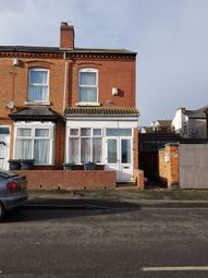 Thumbnail 2 bed end terrace house for sale in Leslie Road, Perry Barr, Birmingham