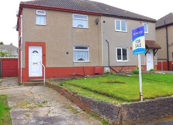 Thumbnail 3 bed semi-detached house for sale in Central Avenue, Creswell, Worksop