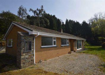 Thumbnail 4 bed bungalow for sale in Tir Na Nog, Cwmbrwyno, Goginan, Aberystwyth