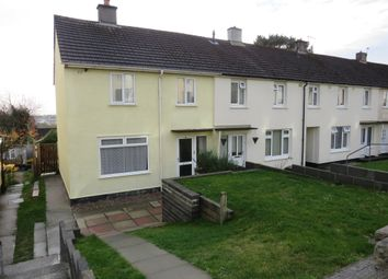 Thumbnail 2 bed end terrace house for sale in Taunton Avenue, Whitley, Plymouth
