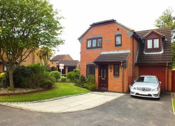 Thumbnail 3 bed detached house to rent in Manor Grove, Eynesbury, St. Neots