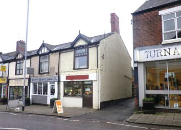 Thumbnail Commercial property for sale in High Street, Biddulph, Staffordshire