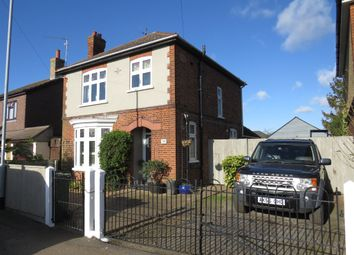 Thumbnail 3 bed detached house for sale in Badgeney Road, March
