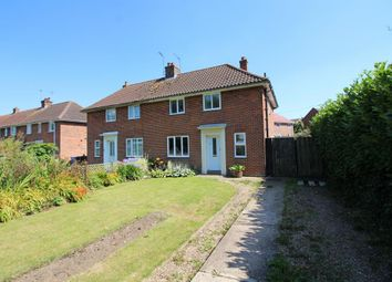 Thumbnail 3 bedroom semi-detached house for sale in Flixton Road, Bungay