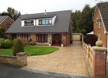 Thumbnail 3 bed semi-detached house for sale in Minehead Avenue, Leigh, Greater Manchester