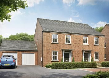 "Thumbnail 2 bed semi-detached house for sale in ""Kedleston"" at Wookey Hole Road, Wells"