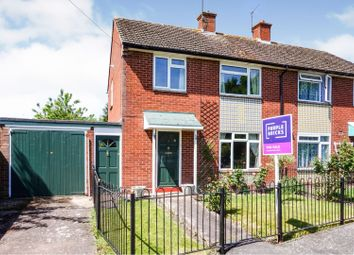 Thumbnail 3 bed semi-detached house for sale in Meadow Road, Alcester