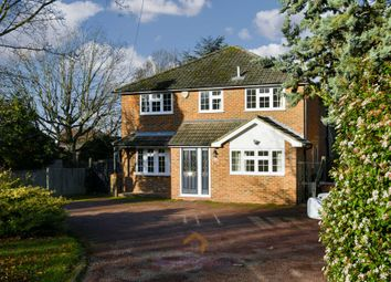 Thumbnail 4 bed detached house to rent in Longdown Lane North, Epsom