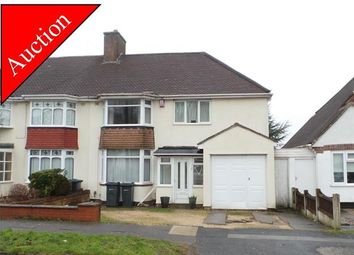 Thumbnail 4 bed semi-detached house for sale in Donegal Road, Streetly, Sutton Coldfield