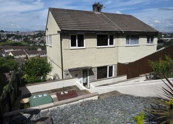 Thumbnail 3 bed semi-detached house for sale in Eggbuckland Road, Hartley, Plymouth