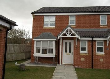 Thumbnail 3 bed semi-detached house to rent in Cottingham Grove, Thornley, Durham