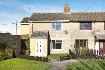 Thumbnail 3 bed end terrace house for sale in High Meadow, Upton Scudamore, Warminster