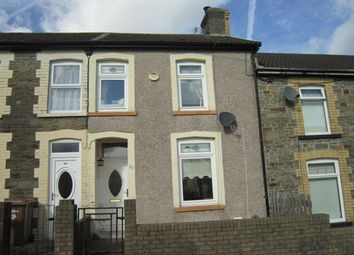 Thumbnail 2 bed terraced house for sale in Upp[Er Wood Street, Bargoed