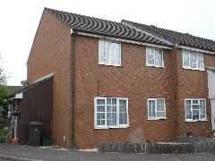 Thumbnail 1 bed end terrace house to rent in Ryder Close, Hertford