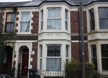 Thumbnail 5 bedroom shared accommodation to rent in Angus Street, Roath, Cardiff