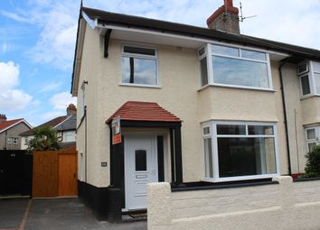 Thumbnail 3 bed semi-detached house for sale in Mount Road, Bebington, Wirral